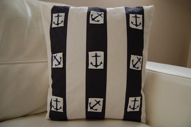 Yet another marine theme pillow / Poduszka z morskim akcentem / Cuscino da mare