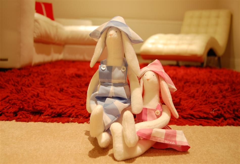 Tilda Rabbits Couple