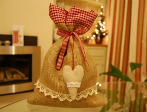 Christmas gift bag idea