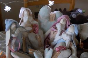 Tilda bunnies for Charity