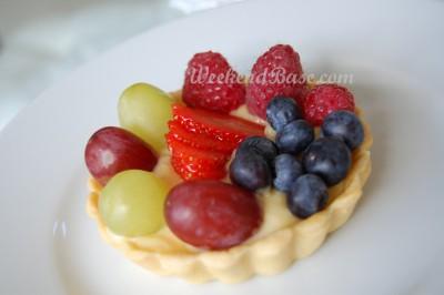 Fresh fruit tart - mini
