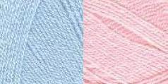 pink/blue yarn