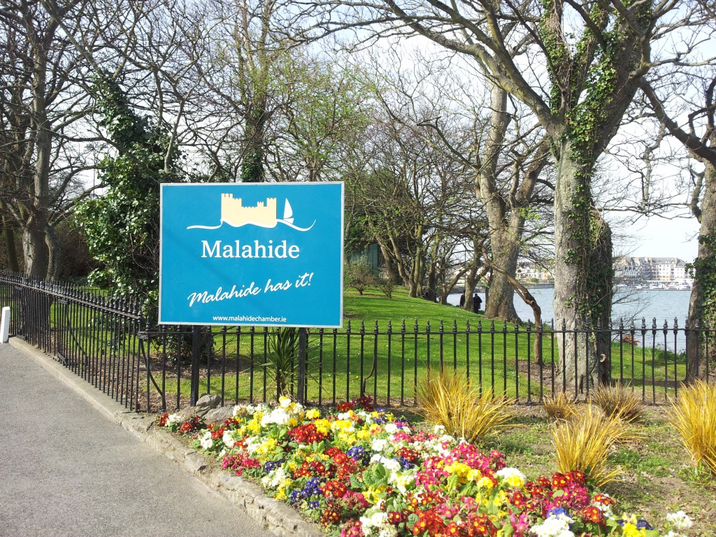 Cycling to Malahide