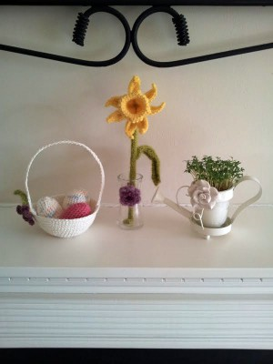 Crochet Easter decorations