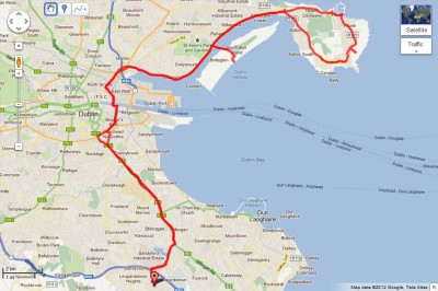 Cycling to Howth and Bull Island