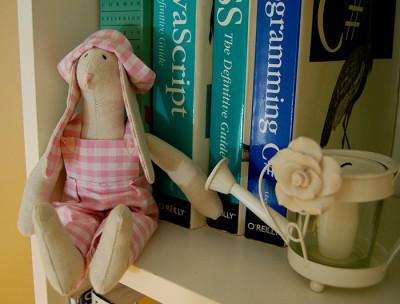 Pink Tilda Bunny
