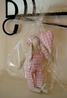 Wrapped Tilda Bunny