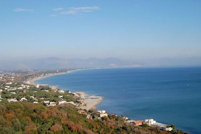 San Felice Circeo coast